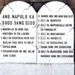 The incorrect 10 Commandments in Ilonggo (Hiligaynon)